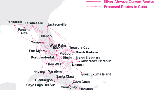 Cuba Flights Could Be Coming To Jacksonville Through Silver Airways