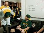 A's 'shift' leadoff hitter in fast pitch to social media