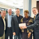 Brothers Services gives to United Way