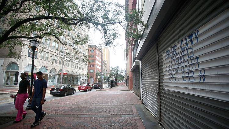 Development on downtown Baltimore's west side has been slated for redevelopment for more than a decade but seen little progress during that time.