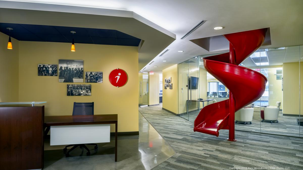 2016 Coolest Office Spaces iQor St Petersburg Tampa Bay