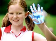 "The ""Have a Greater Hand in Your Health"" campaign for Highmark Blue Cross Blue Shield by Mullen (2002)."
