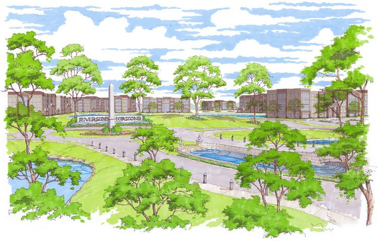 Riverside Horizons is a 300-acre industrial park that NorthPoint is developing at Interstate 635 and Missouri 9 in Riverside.