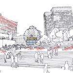 Delaware North proposes London Eye-style wheel, urban beach, ice trail for City Hall Plaza