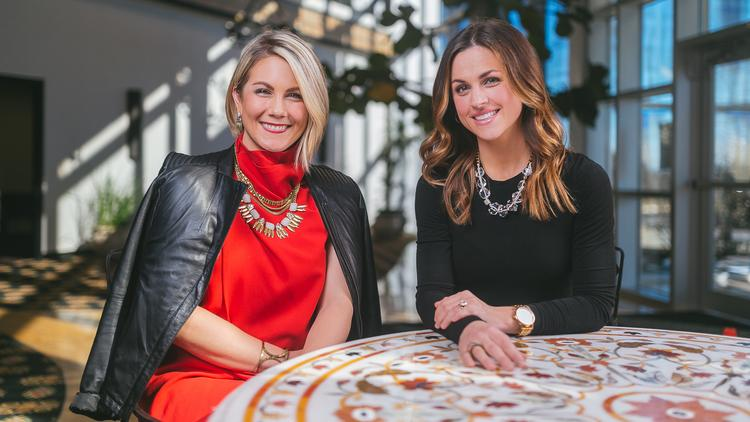 Kelsey Perry Left And Ryane Delka Are Co Ceos Of Silpada Designs