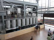 Bluejacket guests can look down on the bar from its mezzanine level.