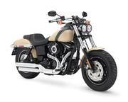 The Fat Bob model was restyled for the 2014 lineup.