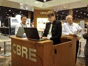 Brokerage firms like CBRE Inc. stayed busy during the ICSC Florida Conference.