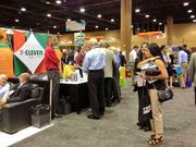 7-Eleven was among the more popular exhibitors at this year's ICSC Florida Conference.