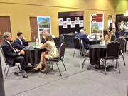 Agents from Orlando-based brokerage firm Crossman & Co. had back-to-back meetings at the ICSC Florida Conference.