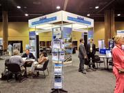 Orlando-based development and brokerage firm Real Property Specialists had a great spot for its big booth at the ICSC Florida Conference.