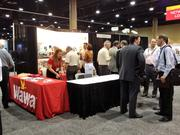Wawa's booth stayed busy during the ICSC Florida Conference.