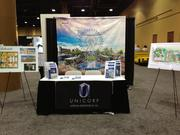 Unicorp National Developments Inc. was on hand to share pictures of its Orlando-area projects at the ICSC Florida Conference.