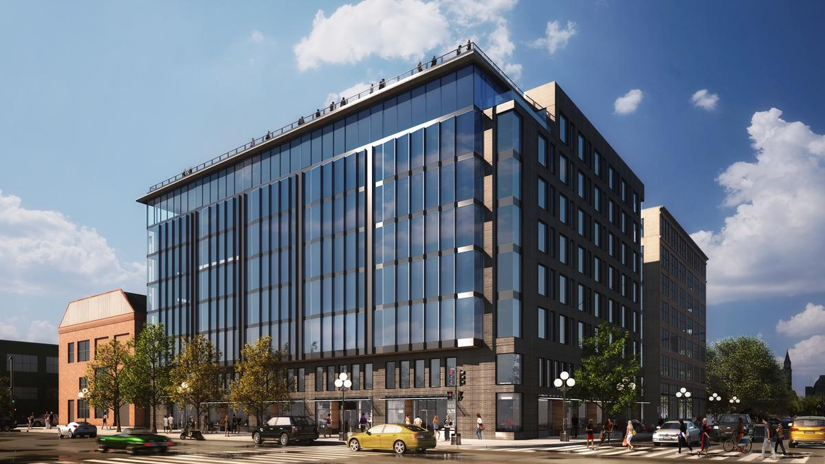 New pioneer square office building lands first tenant for Seattle builders