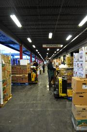 As it has grown, VegiWorks has had to keep adding more space at the market.