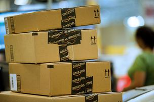 Warehouse workers at Amazon.com facilities claim they are forced to wait in long lines for security checks during lunch breaks and after their shifts, and they are seeking to be paid for that time.