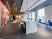 All floors of Red Lobster's headquarters feature cheerful nautical elements, bright fun graphics, waves of natural light and a collaborative work environment.