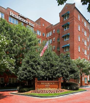 Bethedsa-based RLJ Lodging Trust's latest hotel to come through foreclosure is the 78-room Residence Inn Atlanta Midtown Historic.