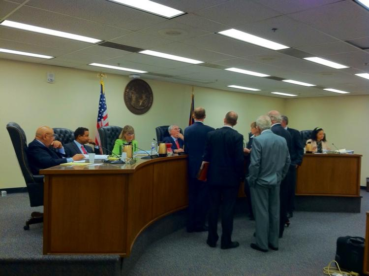 The N.C. Utilities Commission met Tuesday in Raleigh to consider proposed changes in Duke Energy's efficiency efforts.