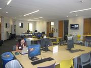 The only undergraduate space in the building, the W.P. Carey Academy Honors Lounge, is reserved for honors students in the undergraduate business program.