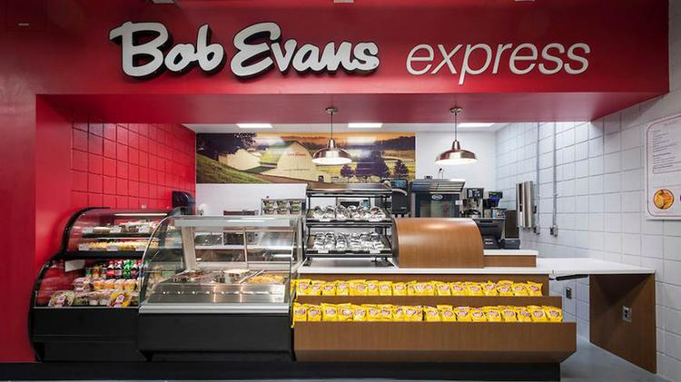 The first Bob Evans Express opened in the cafeteria of BMW's manufacturing plant in South Carolina. Click the next images to see some of the selections offered.