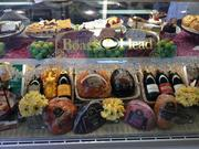The deli features Boar's Head meats