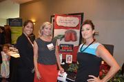 One of the exhibitors for the Women in Business expo was local steakhouse, Ruth's Chris.