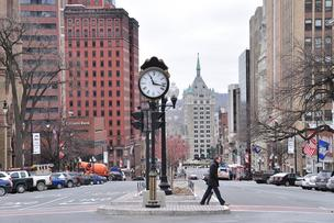 Seven teams of consultants are in the running to be hired to write a new plan to guide development efforts in downtown Albany.