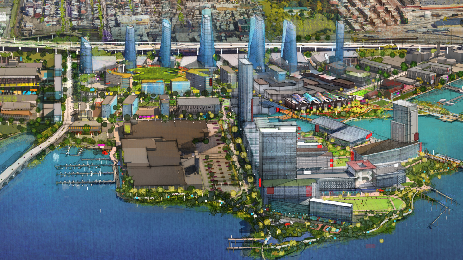 Port covington master plan greeted by overflow crowd at hearing port covington master plan greeted by overflow crowd at hearing baltimore business journal malvernweather Image collections