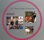 Zena West of Expion said a popular SXSW party, AllHat5, took on a twist this year: a party with a purpose. The event raised more than $9,000 for HorseboyFoundation.org in a couple of hours. (party hashtag: #allhat5)