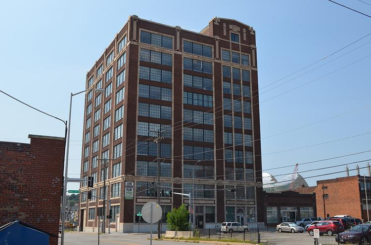 The historic Thomas Corrigan Building at 1828 Walnut St. in the Crossroads Arts District is under contract to developers planning to convert its top nine floors into apartments.