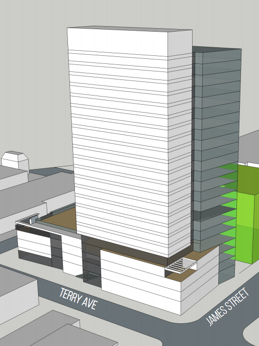 Seattle company plans 24story senior housing tower on First Hill – Senior Housing Building Plans