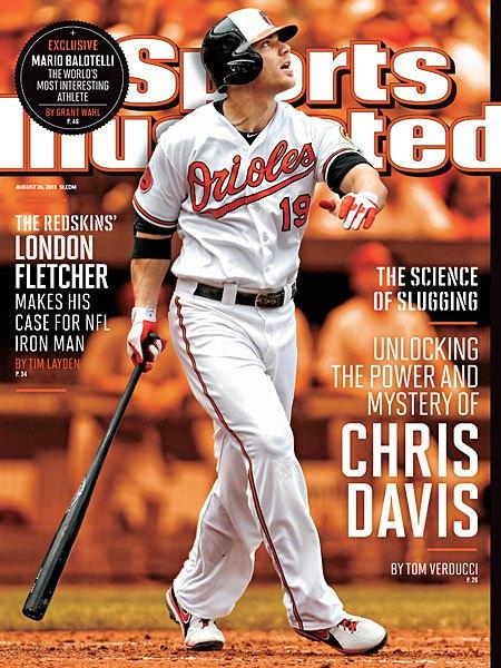 Chris Davis is on a regional cover of Sports Illustrated.