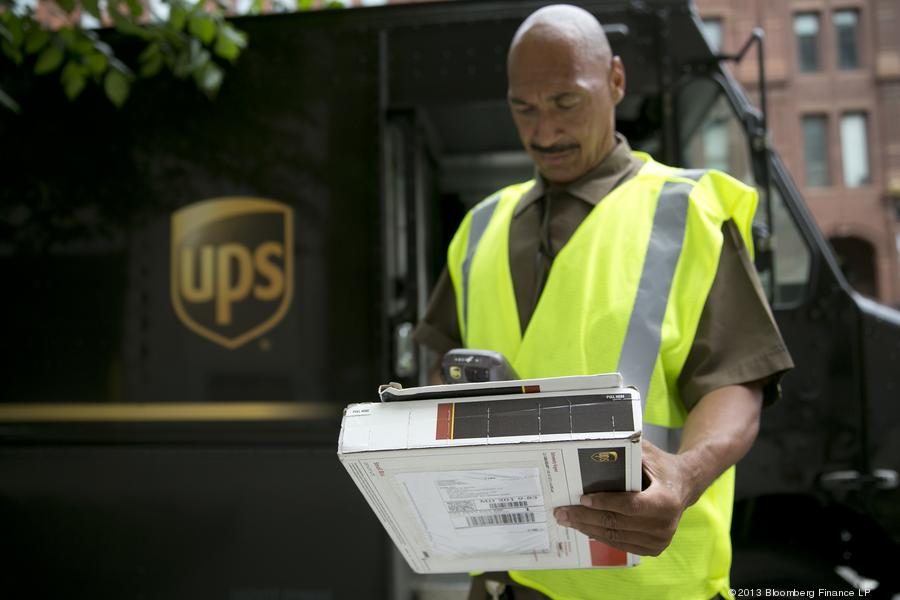 ups driver wages