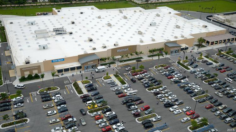 the ground lease for the new walmart supercenter at 2500 west broward blvd fort