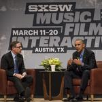 Obama's arrival heralds new level of excitement for SXSW