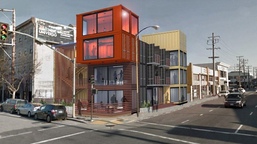 Shipping Container Offices Come To SoMa, As S.F. Startups Hunt For Space    San Francisco Business Times