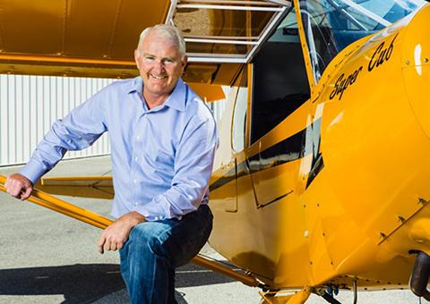 Mark Baker has been named president of the Aircraft Owners and Pilots Association.