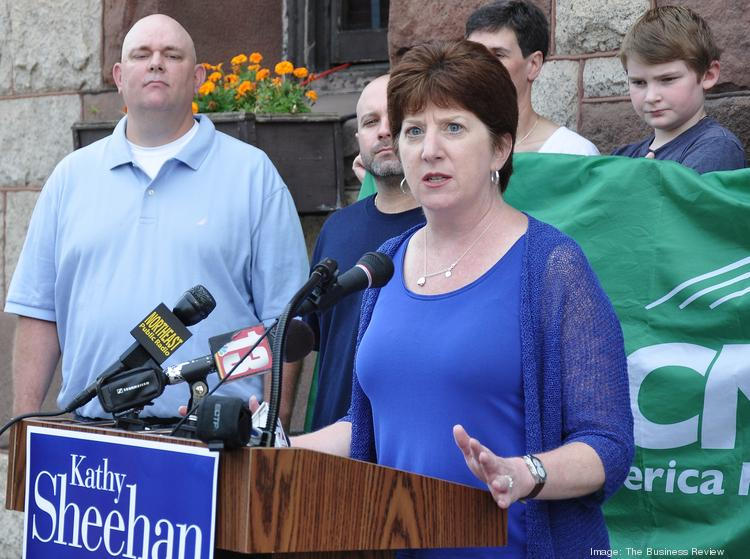 Kathy Sheehan, Democratic candidate for mayor of Albany, NY