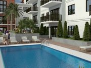 The pool at the Flagler 626 condo in Fort Lauderdale.