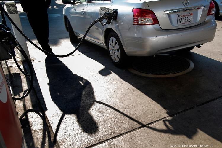 Gas prices in the Sacramento region rose nearly 50 cents in the last month. The average gallon of gas costs $3.986.