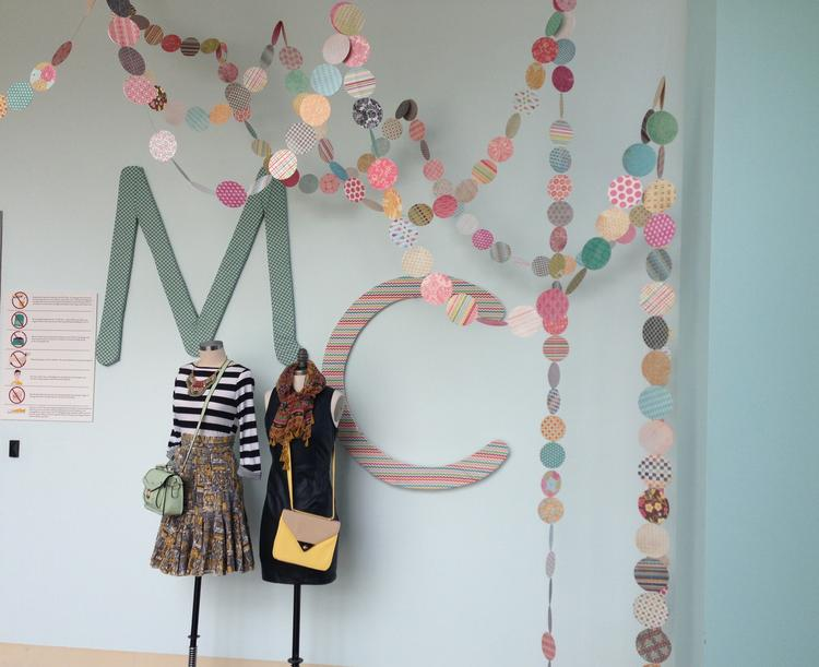 The entry to ModCloth's Crafton office and fulfillment center.