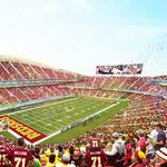 Rushern Baker on race for new NFL stadium: 'We are going to make sure we are competitive'