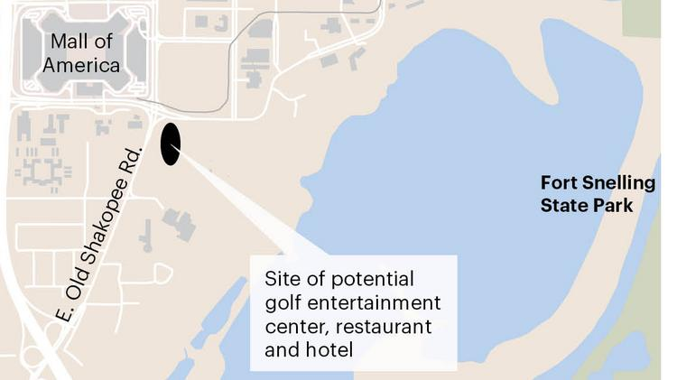 Golf entertainment center planned near Mall of America ... on west edmonton mall map, del amo fashion center mall map, rosedale shopping center map, spotsylvania mall map, birmingham interstate map, king of prussia mall map, palisades center map, national sports center map, moa map, westroads mall omaha map, fresno fashion fair map, american dream meadowlands map, minnesota map, westfield mall map, mall directory map, shopping mall map, valley fair map, nickelodeon universe map, palm beach outlets map, south coast plaza map,