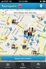 Yahoo reportedly checks out Foursquare as data partner