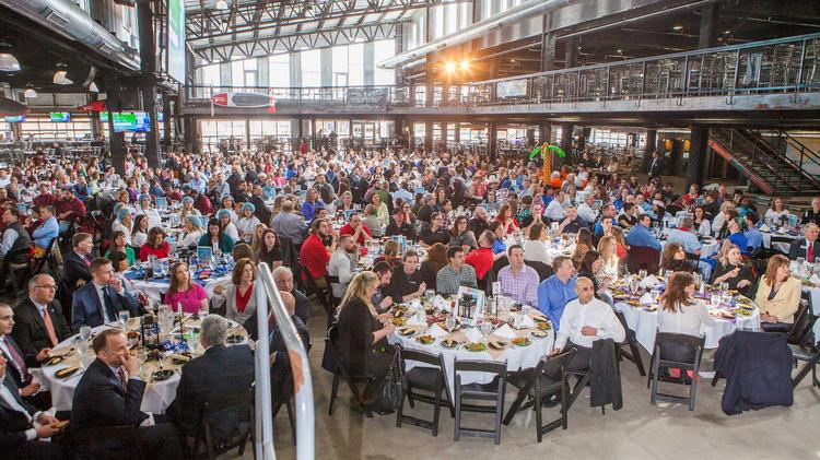More than 600 attended the Best Places to Work awards luncheon at RiverWorks.