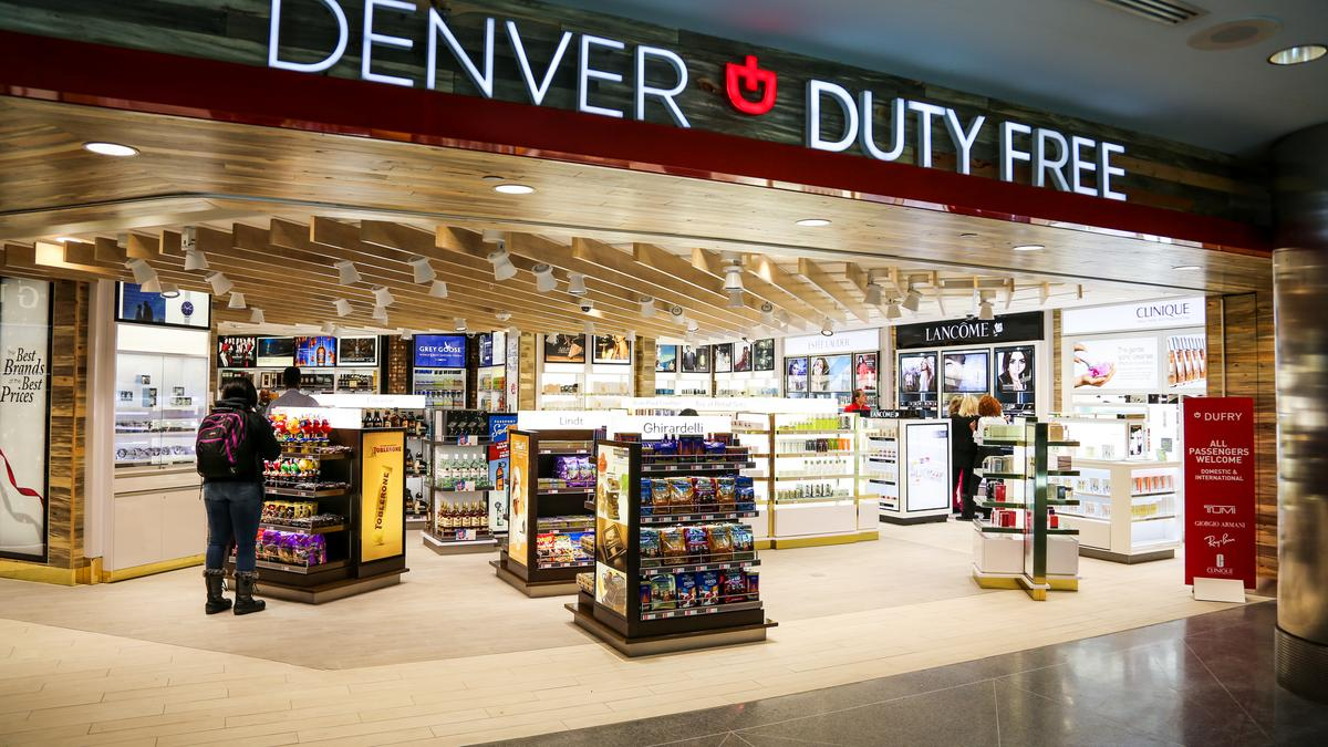 Denver Airport Opens New Duty Free Shops Denver Business