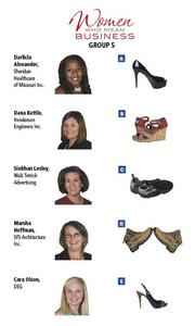 GROUP 5: Women Who Mean Business  Fill out the survey at https://www.surveymonkey.com/s/WWMB2013 to have an opportunity for your own shoe experience.