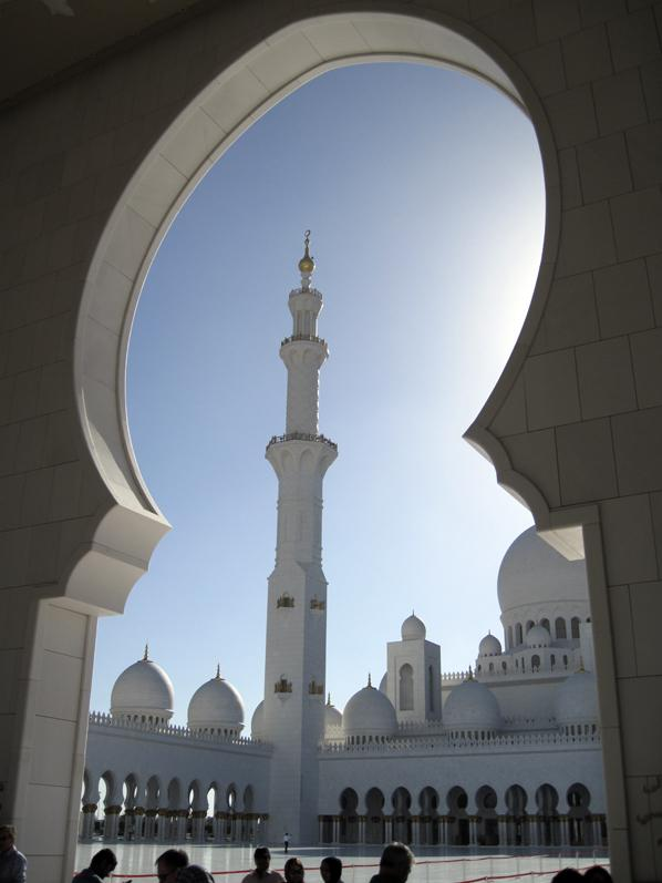 Sheikh Zayed Grand Mosque, United Arab Emirates.