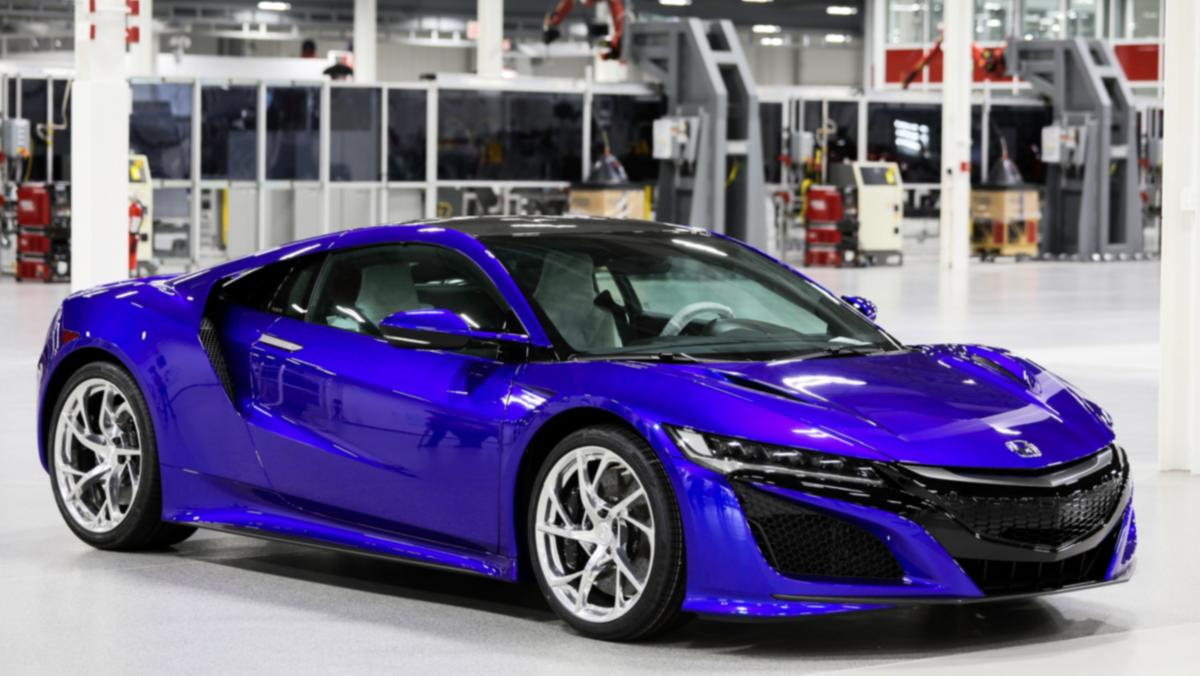 Acura Nsx Car Sales